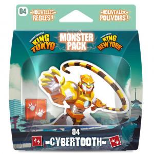 Boite de King of Tokyo - Monster Pack Cybertooth