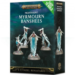 Boite de Age of Sigmar: Easy to Build - Nighthaunt Myrmourn Banshees