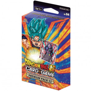 Boite de Dragon Ball Super Card Game - Premium Pack 02 Anniversary