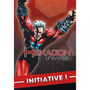 Boite de Hexagon Universe : Initiative !