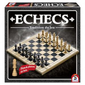 Boite de Jeu d'Echecs en Bois - Tradition du Jeu