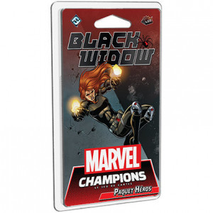 Boite de Marvel Champions : Black Widow