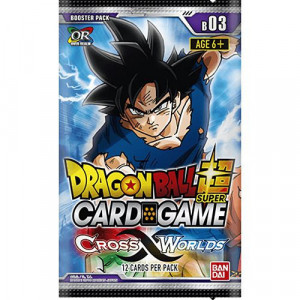 Boite de Dragon Ball Super Card Game - Booster Série 3