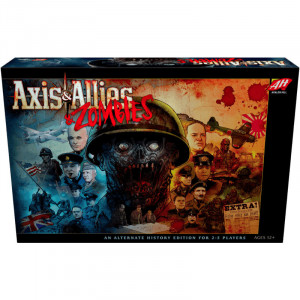 Boite de Axis and Allies - Zombies