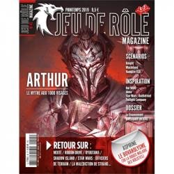 Jeu de Rôle Magazine 45 (Printemps 2019)