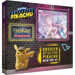 Dossier Détective Pikachu : Coffret Mewtwo GX