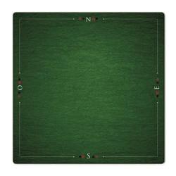 Tapis de Bridge Prestige Vert (78 x 78cm)