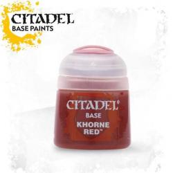 Citadel Base Khorne Red