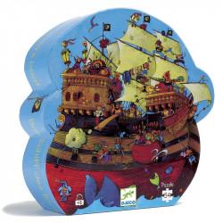 Puzzle Silhouette - 54 Pièces - Le Bateau de...