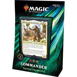 Deck Commander 2019 - Genèse Primitive