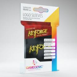 Logo Sleeves Keyforge Noir