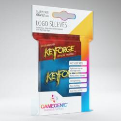 Logo Sleeves Keyforge Bleu