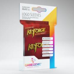 Logo Sleeves Keyforge Rouge