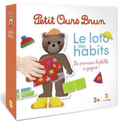 Petit Ours Brun - Le Loto des Habits