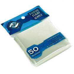 50 Protège Cartes 70x70mm FFG (Paquet Bleu)