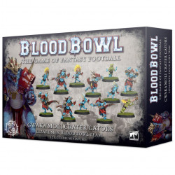 Blood Bowl : Gwaka'moli Crater Gators Equipe -...