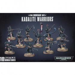 W40K : Drukhari - Kabalite Warriors