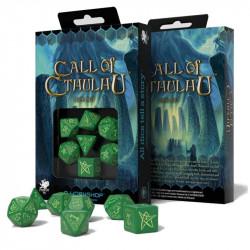 Set de 7 Dés - Call of Cthulhu - Vert /...