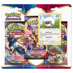 Pack 3 Boosters - EB01 Epée et Bouclier -...