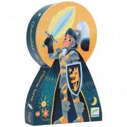 Puzzle Silhouette - 36 Pièces - Le Chevalier de...