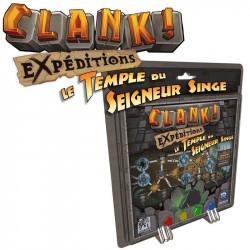 Clank! Expeditions - Le Temple du Seigneur Singe