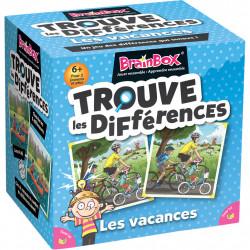 Brainbox - Trouve Les Différences - Les Vacances