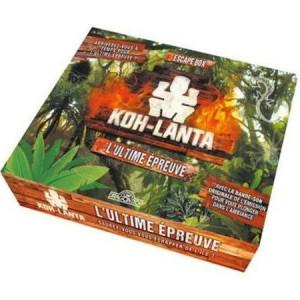 Boite de Escape Box Koh Lanta - L'Ultime Epreuve