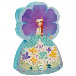 Puzzle Silhouette - 36 Pièces - La Princesse du...
