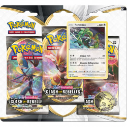 Pack 3 Boosters - EB02 Clash des...