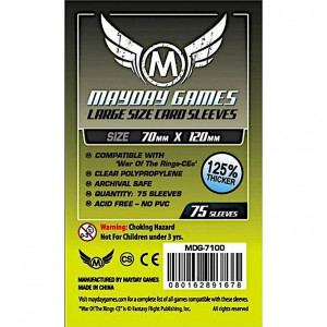 Boite de 75 Protège Cartes Tarot 70x120mm Mayday Premium (MDG-7100)