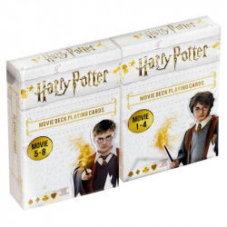 Pack de 2 Jeux de 54 Cartes - Harry Potter