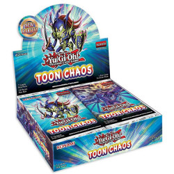 Yu-Gi-Oh! - 24 Boosters - Chaos Toon
