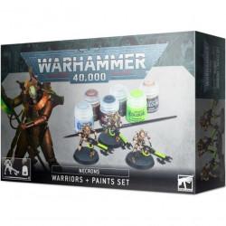 W40K: Necrons Warriors + Paint Set