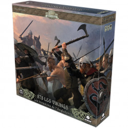 878 - Les Vikings - Les Invasions de l'Angleterre