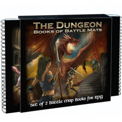 Livre Plateau de Jeu : The Dungeon Books of...
