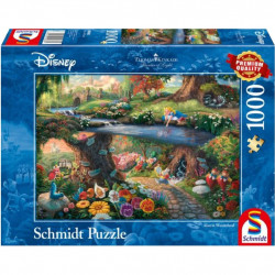 Puzzle Disney Kinkade - Alice au Pays des...