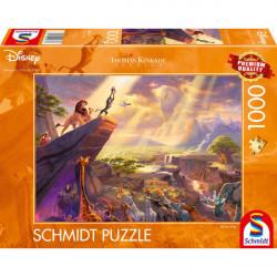 Puzzle Disney Kinkade - Le Roi Lion - 1000 pièces