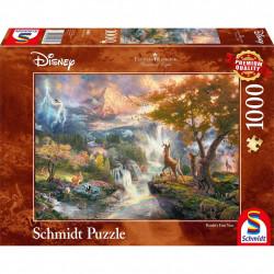 Puzzle Disney Kinkade - Bambi - 1000 pièces