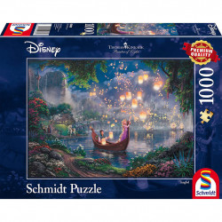 Puzzle Disney Kinkade - Raiponce - 1000 pièces