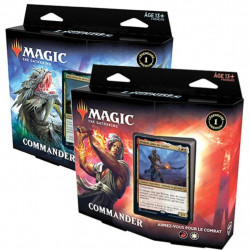 Magic : Commander Legendes - Lot de 2 Decks...