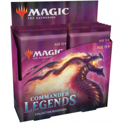 Magic : Commander Légendes - 12 Boosters...