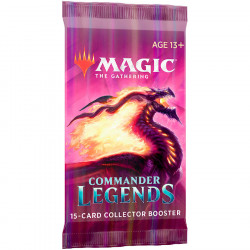 Magic : Commander Légendes - Booster Collector VF