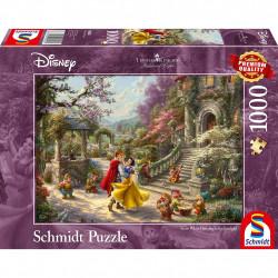 Puzzle Disney Kinkade - Blanche Neige - 1000...