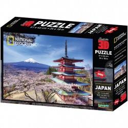 Puzzle 3D National Geographic - Honshu Island-...