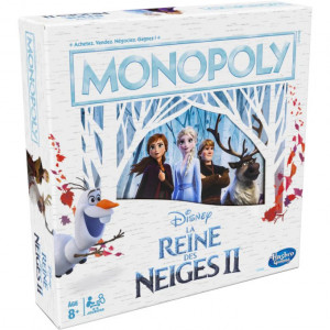 Boite de Monopoly Reine des Neiges 2