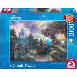 Puzzle Disney Kinkade - Cendrillon - 1000 pièces
