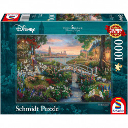Puzzle Disney Kinkade - 101 Dalmatiens - 1000...