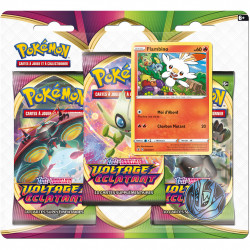 Pack 3 Boosters - EB04 Voltage Eclatant - Flambino