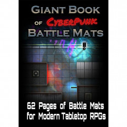 Livre Plateau de Jeu : Giant Book of Cyberpunk...