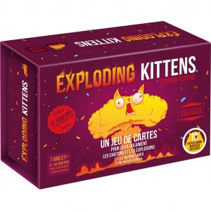 Boite de Exploding Kittens : Edition Festive